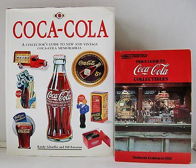 Coca-Cola Collectors Reference Book and Price Guide (1984 & 1995) - VGUC