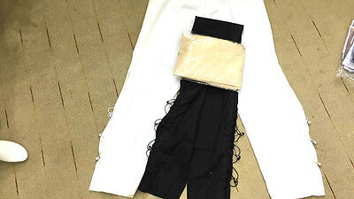 Black New Indian/Pakistani Ladies readymade Shalwar Kameez/Trouser/Pants