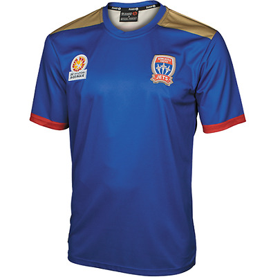 Newcastle Jets FC Replica Home Jersey Size S-5XL! A League Soccer Football!