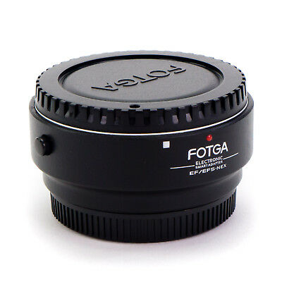 Electronic AF Adapter Ring Canon EF EF-S Lens to Sony E-Mount Camera NEX A7S A7R