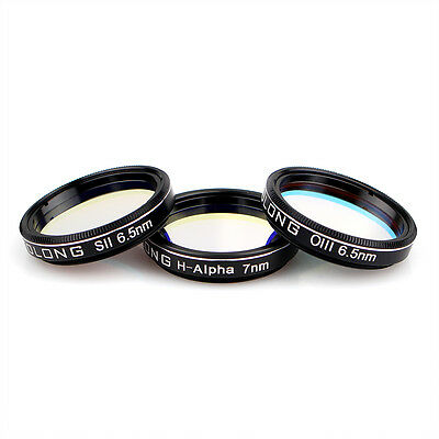 OPTOLONG H-Alpha 7nm SII-CCD/OIII-CCD 6.5nm Narrow-Band Filters for1.25''Mounted