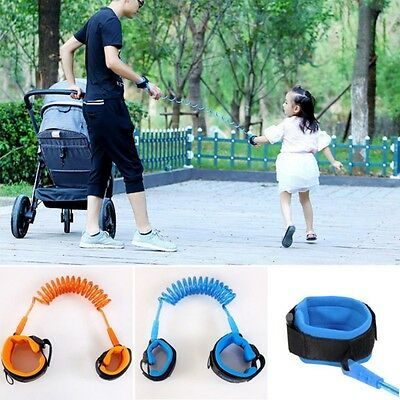 Toddler Kids Babys Safety Walking Harness Anti-lost Strap Wrist Leash Belt Hand