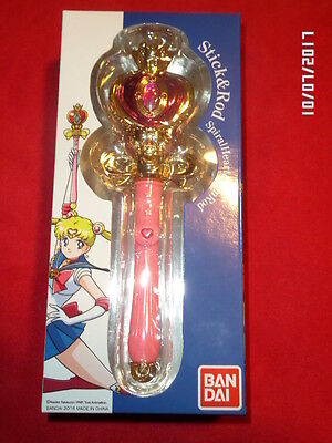 Spiral Heart Moon Rod Sailor Moon Stick & rod neuf Bandaï sceptre