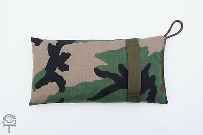 Shaddox Tactical Shooter's Rest Bean Bag, Large, Woodland BDU
