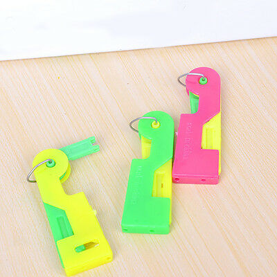 3Pcs New Plastic Automatic Needle Threader Device Craft Easy Stitch Sewing Tools