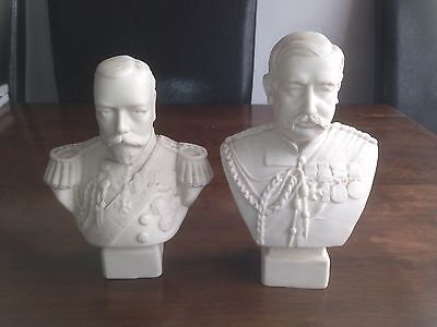 Two Miniature Busts Circa 1910, George V And General Sir Redvers Henry Buller