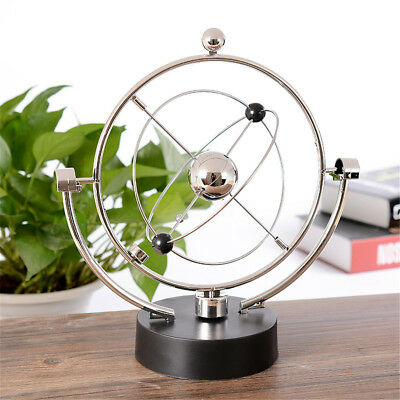 Magnetic Perpetual Moving Instrument Spin Ball Wiggler Science Model Desk Decor