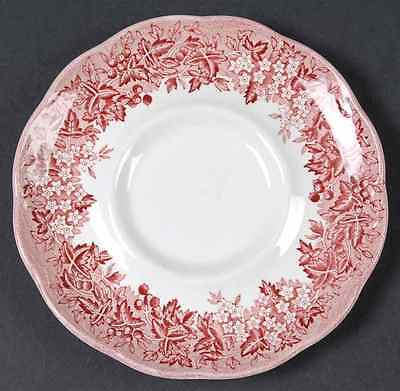 J & G Meakin ROMANTIC ENGLAND-RED Saucer 6716747