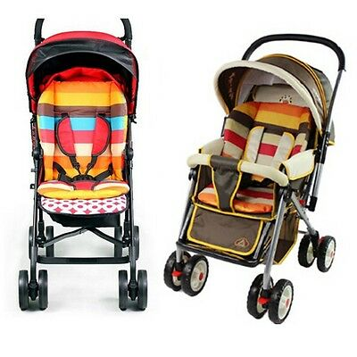Baby Infant Stroller Cushion Pad Pram Padding Liner Car Seat Chair Rainbow Mat