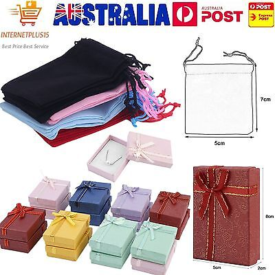 20/16/1pc Gift Bag Jewelry Display 5x7cm Velvet Bag/Gift Box/organza Pouch TT