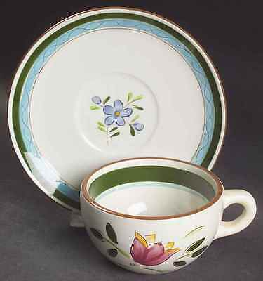 """Stangl COUNTRY GARDEN Cup Saucer 2"""" S6975630G2"""