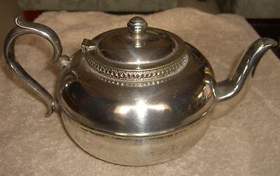 """Antique Teapot - """"Warwick"""" EPNS-A1 Silver-Plated (Warranted Hard Soldered)"""