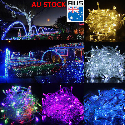 50/100M LED String Fairy Lights For Xmas Wedding Party Lawn Patio Decor AU Stock