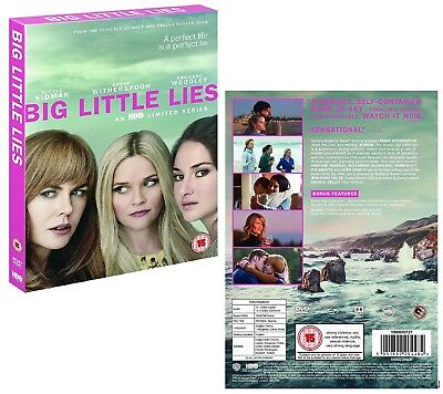 BIG LITTLE LIES 1 (2017) HBO TV Dark Comedy MiniSeries Season NEW Rg2 DVD not US