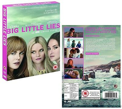 BIG LITTLE LIES (2017) HBO TV Dark Comedy MiniSeries Season  NEW Rg2 DVD not US