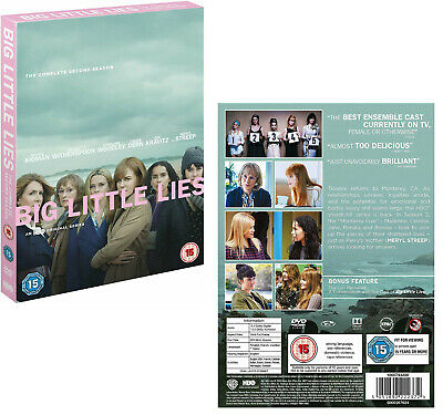 BIG LITTLE LIES (2017): HBO TV Dark Comedy MiniSeries Season NEW RgB BLU-RAY