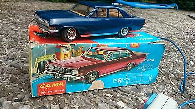 Gama Opel Admiral Fernlenkauto Blechauto mit Box boxed TinToy