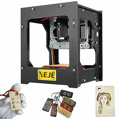 1000mW Mini USB Laser Engraver Printer Carver DIY Engraving Cutting Machine