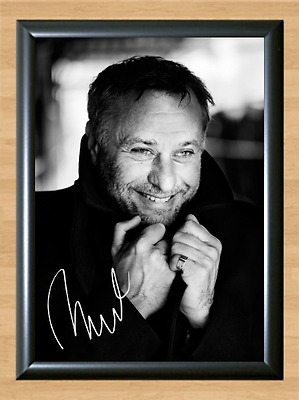 Michael Nyqvist Girl Dragon Tattoo Signed Autographed A4 Poster Memorabilia dvd