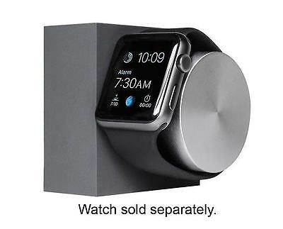 Native Union DOCK for Apple Watch - Slate, Space Gray (38mm or 42mm) - VG