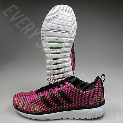 ADIDAS CLOUDFOAM SUPER Flex Womens Running Shoe AW4207 PinkBlack(NEW)Lists@$80