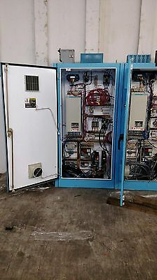 siemens dc drive, 6ra2425-2fv62 with enclosure, relays, disconnect, fuses
