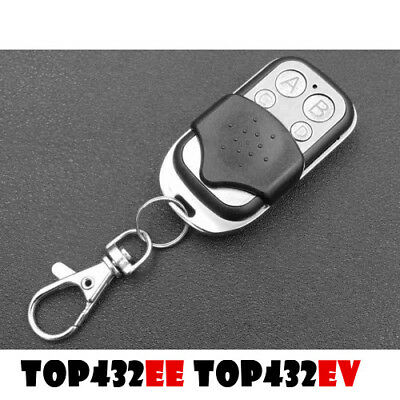 CAME TOP432EE TOP432EV Remote Control Replacement TOP434EE TOP434EV Gate Fob Key