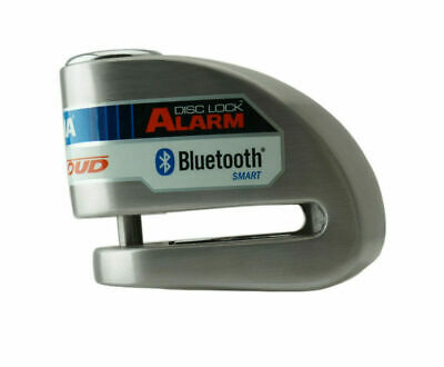Xena XX6 Alarm Motorcycle / Scooter Disc Lock - Limited Edition Red