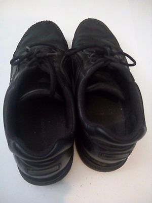 Rockport Men's Black Leather Shoes US Size 8.5