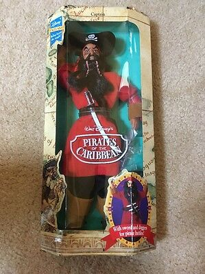 """Disney's Pirates of the Caribbean """"Captain"""" Collectible Doll #10258 NEW"""