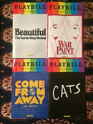 2017 Broadway Complete Pride (35) Playbill Collection