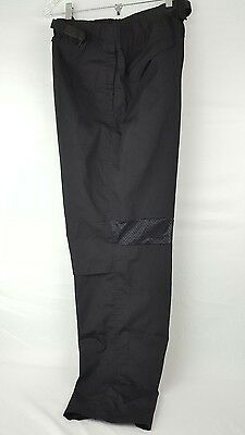 """Men""""s Cook Cool by Happy Chef Black Ventilated Pants sz large"""