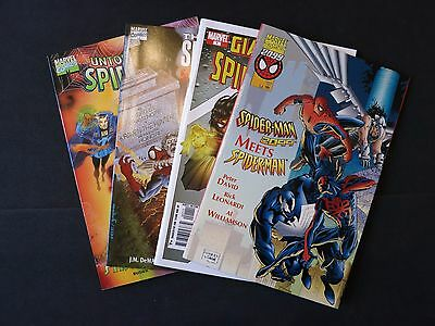 Spiderman 4 issue one shot lot Marvel Comics VF/NM