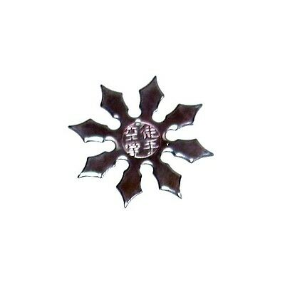 8 point throwing star with text