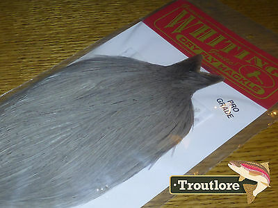 Whiting Farms Dry Fly Cape Medium Dun Whole New Pro Grade Fly Tying Neck Feather
