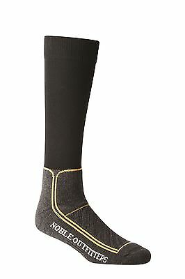 Noble Outfitters ThermoThin Socks- Charcoal Medium/ Large BAT-12329P