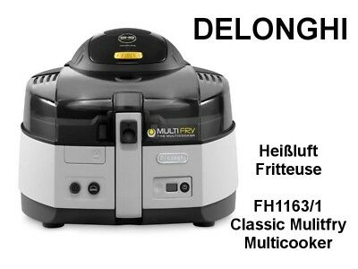 DELONGHI Heißluft Fritteuse FH1163/1 Classic Multifry