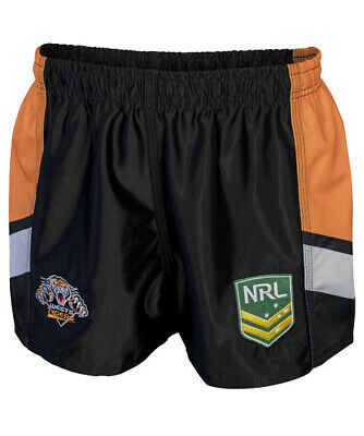 Wests Tigers NRL 2018  Home Supporters Shorts Adults & Kids Sizes!