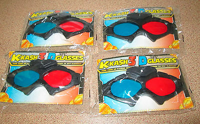 K-Kash 3D Glasses Extreme Spy Glass Light Up Kids Magazine Promotional Toy