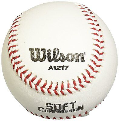 WILSON Soft Compression Baseball A1217 Baseballball WTA 1217B