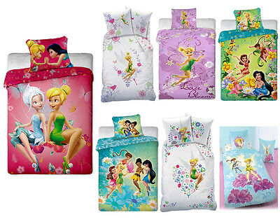 Bettwäsche Disney Fairies Tinkerbell 135x200 Baumwolle