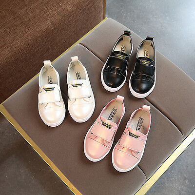 New Toddler Kids Child Fashion Casual Shoes Girls School Shoes Party Shoes