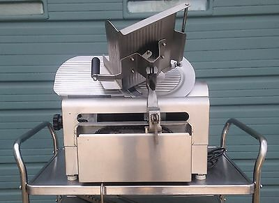 Globe 3750 12'' Automatic Meat and Cheese Deli Slicer