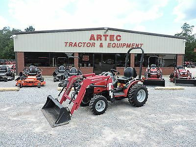 2014 Mahindra Max 28 Xl Tractor With Front Loader - Low Hour - Good Condition!!