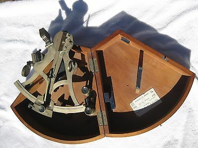 Spencer Browning and Co. London Marine Sextant