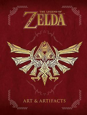The Legend of Zelda: Art and Artifacts by Nintendo (2017, Hardcover)