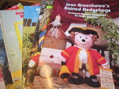 Jean Greenhowe's Knitted Dolls Knitting Book Your Choice
