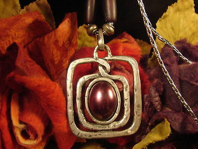 ~Beautiful Witch's Path Amulet & Spell Scroll To Awaken Magick~Witch Owned~