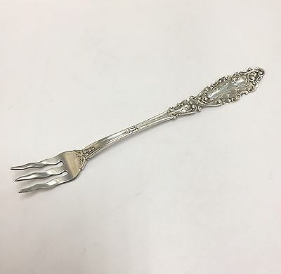 "Vintage Sterling Silver Late 19th Century Shrimp/Cocktail Fork. 5.75"". Monogramm"