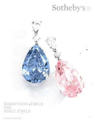 Sotheby's Magnificent Jewels & Noble Jewels Geneva Auction Catalog May 2017
